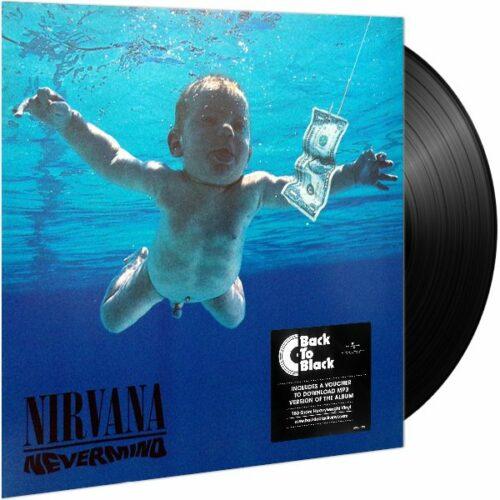 nirvana nevermind 1991 vinyl lp