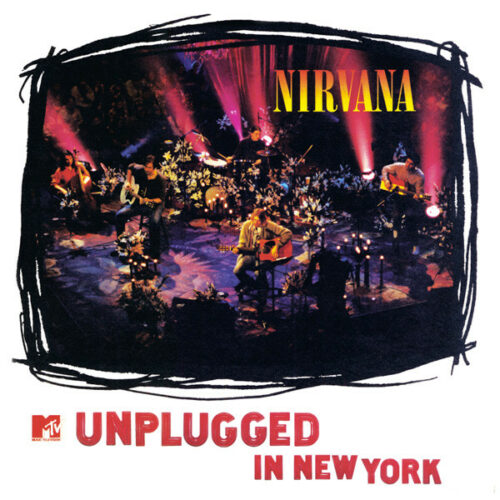 Nirvana MTV unplugged in New York lp vinyl