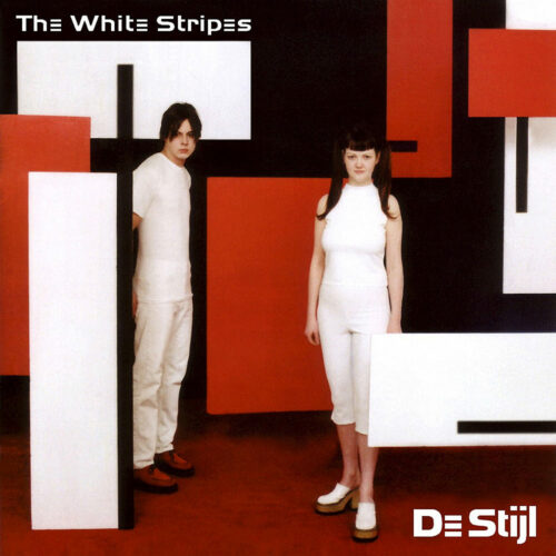 White Stripes De Stijl vinyl lp