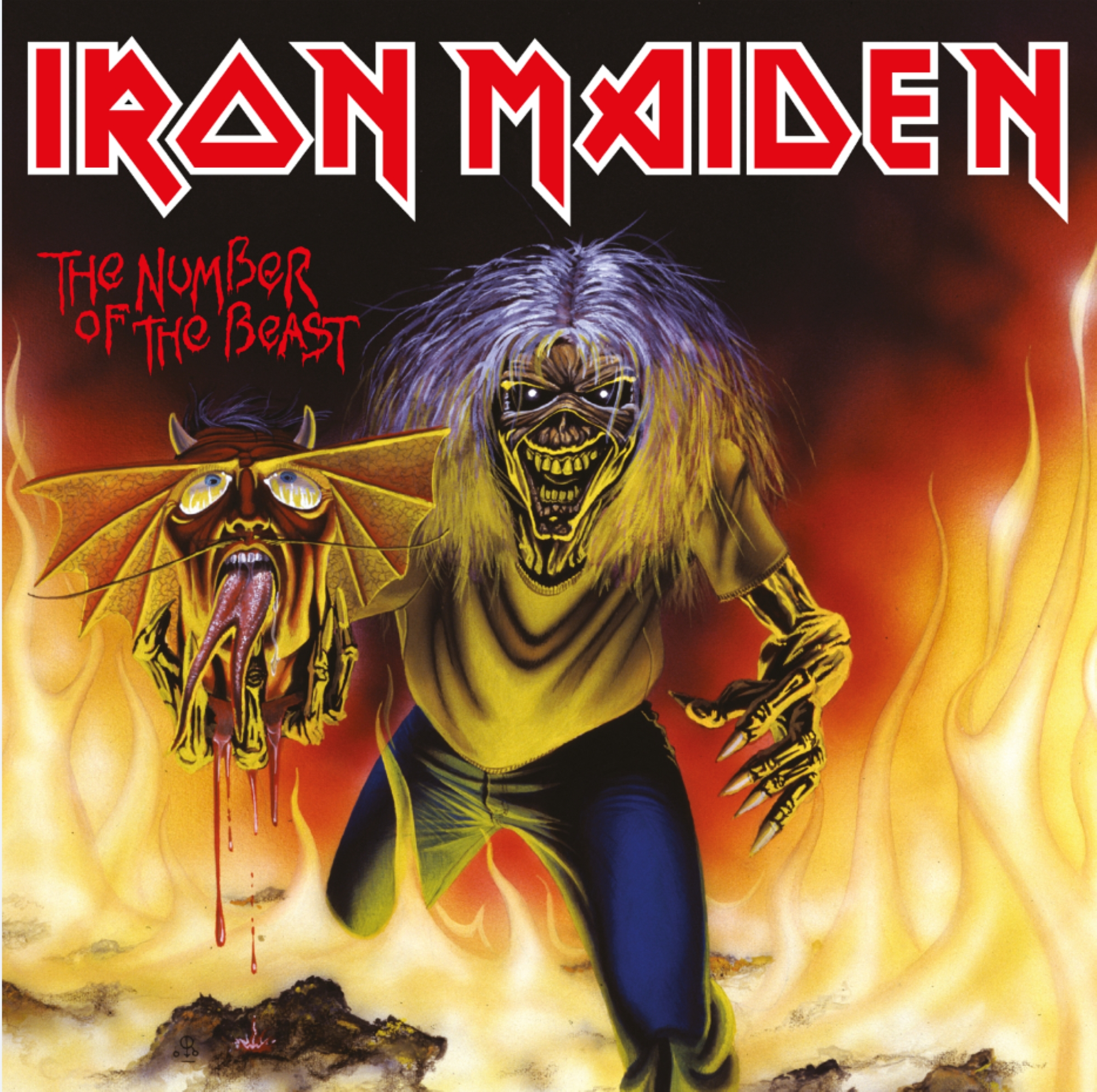 Iron Maiden - The Number Of The Beast (7 Single) - Relacs.dk