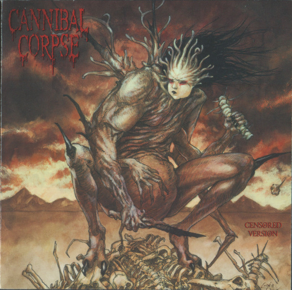 Cannibal Corpse Bloodthirst Cd Censored Relacs Dk