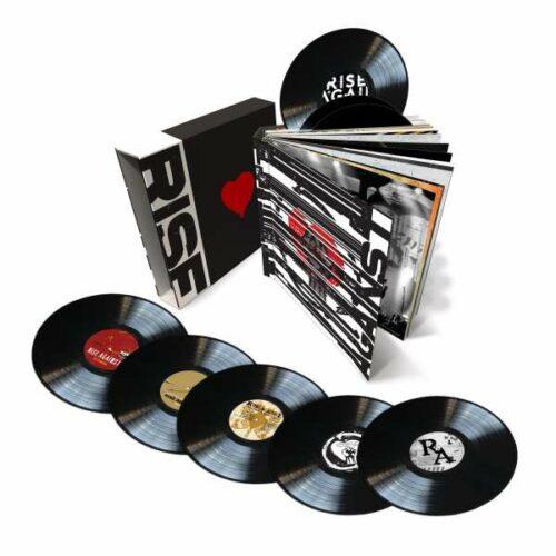 Rise against career vinyl book