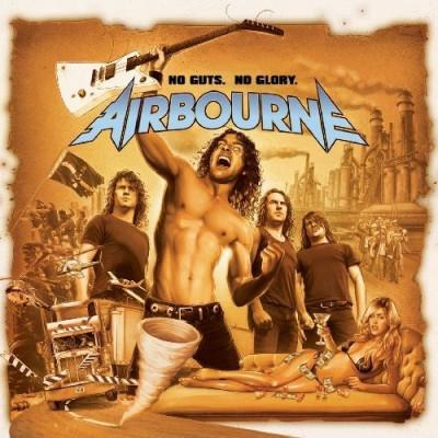 Airbourne No Guts No Glory lp