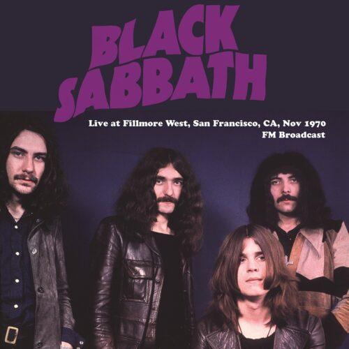 black sabbath live at Fillmore west 1970 vinyl lp