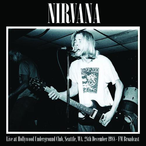 nirvana live at hollywood underground club seattle vinyl lp