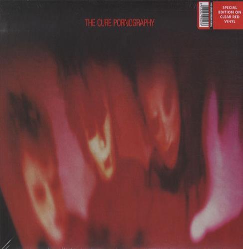 the cure Pornography vinyl lp